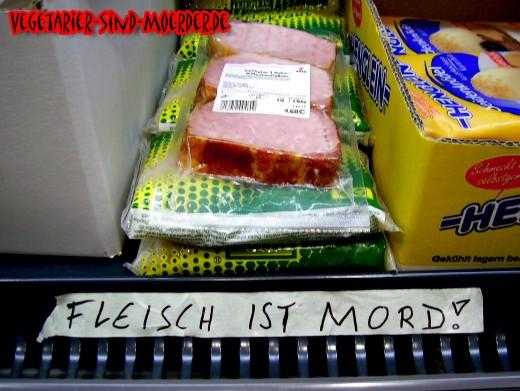 Zu viel Fleisch ist Mord?